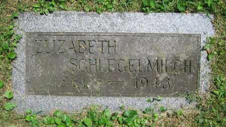 SCHLEGELMILCH, ELIZABETH - Clark County, Ohio | ELIZABETH SCHLEGELMILCH - Ohio Gravestone Photos