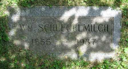 SCHLEGELMILCH, WM. - Clark County, Ohio | WM. SCHLEGELMILCH - Ohio Gravestone Photos