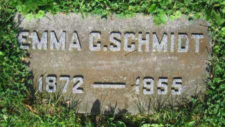 SCHMIDT, EMMA C. - Clark County, Ohio | EMMA C. SCHMIDT - Ohio Gravestone Photos