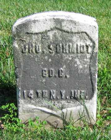 SCHMIDT, JNO. - Clark County, Ohio | JNO. SCHMIDT - Ohio Gravestone Photos