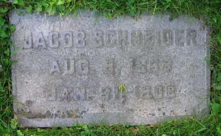 SCHNEIDER, JACOB - Clark County, Ohio | JACOB SCHNEIDER - Ohio Gravestone Photos