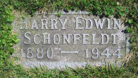 SCHONFELDT, HARRY EDWIN - Clark County, Ohio | HARRY EDWIN SCHONFELDT - Ohio Gravestone Photos