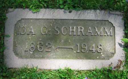 SCHRAMM, IDA G. - Clark County, Ohio | IDA G. SCHRAMM - Ohio Gravestone Photos