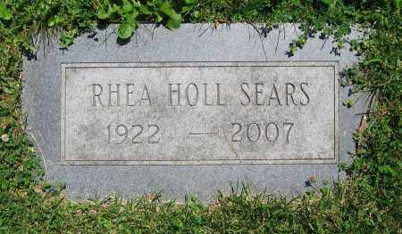 HOLL SEARS, RHEA - Clark County, Ohio | RHEA HOLL SEARS - Ohio Gravestone Photos