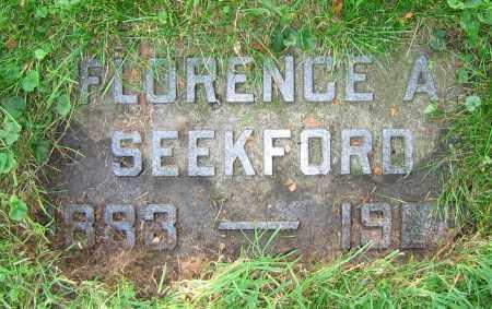 SEEKFORD, FLORENCE A. - Clark County, Ohio | FLORENCE A. SEEKFORD - Ohio Gravestone Photos
