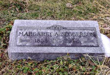 SEGGERSON, MARGARET A. - Clark County, Ohio | MARGARET A. SEGGERSON - Ohio Gravestone Photos