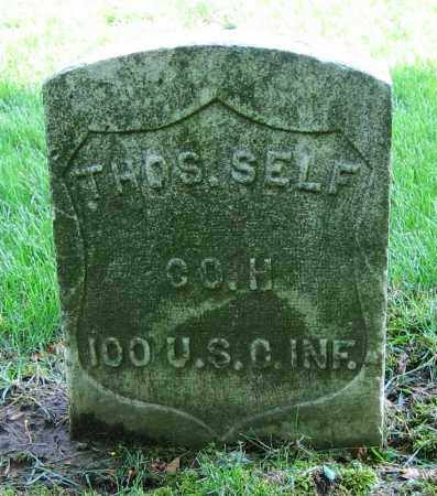 SELF, THOS. - Clark County, Ohio | THOS. SELF - Ohio Gravestone Photos