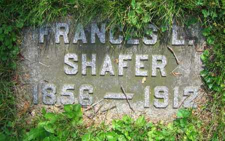SHAFER, FRANCIS L. - Clark County, Ohio | FRANCIS L. SHAFER - Ohio Gravestone Photos