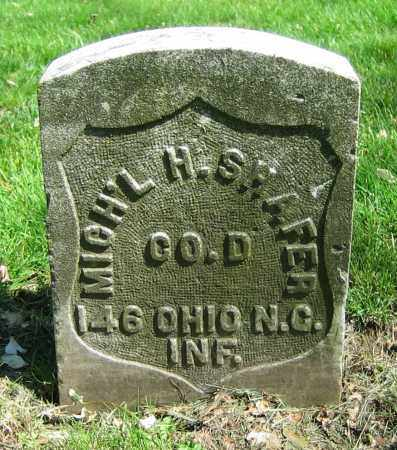 SHAFER, MICH'L H. - Clark County, Ohio | MICH'L H. SHAFER - Ohio Gravestone Photos