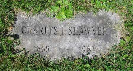 SHAWVER, CHARLES I. - Clark County, Ohio | CHARLES I. SHAWVER - Ohio Gravestone Photos