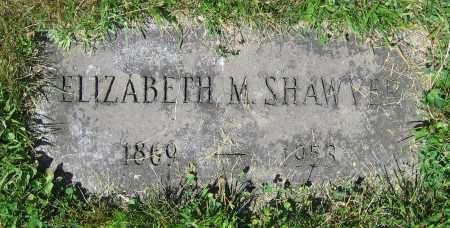 SHAWVER, ELIZABETH M. - Clark County, Ohio | ELIZABETH M. SHAWVER - Ohio Gravestone Photos