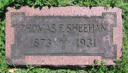 SHEEHAN, THOMAS F. - Clark County, Ohio | THOMAS F. SHEEHAN - Ohio Gravestone Photos