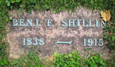 SHILLIN, BENJ. F. - Clark County, Ohio | BENJ. F. SHILLIN - Ohio Gravestone Photos