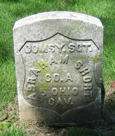 SHORT, ABRAHAM - Clark County, Ohio   ABRAHAM SHORT - Ohio Gravestone Photos