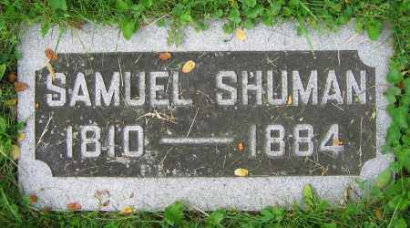 SHUMAN, SAMUEL - Clark County, Ohio | SAMUEL SHUMAN - Ohio Gravestone Photos