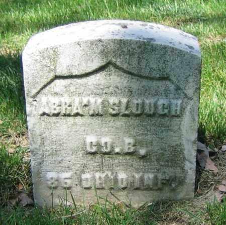 SLOUGH, ABRA'M - Clark County, Ohio | ABRA'M SLOUGH - Ohio Gravestone Photos