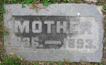 SMALLEY, 'MOTHER' - Clark County, Ohio | 'MOTHER' SMALLEY - Ohio Gravestone Photos