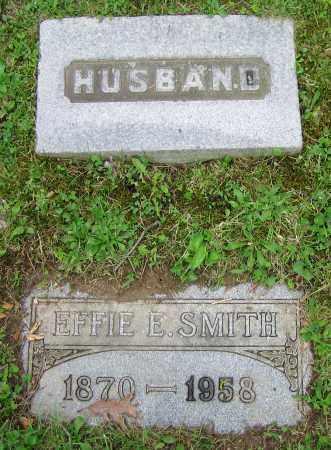 SMITH, EFFIE E. - Clark County, Ohio | EFFIE E. SMITH - Ohio Gravestone Photos