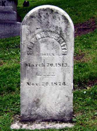 SMITH, SARAH A. - Clark County, Ohio | SARAH A. SMITH - Ohio Gravestone Photos