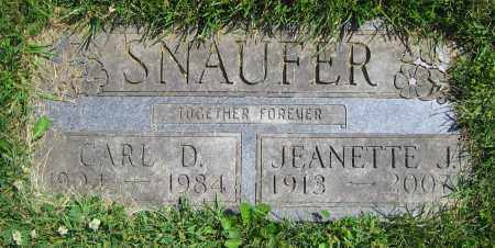SNAUFER, CARL D. - Clark County, Ohio | CARL D. SNAUFER - Ohio Gravestone Photos