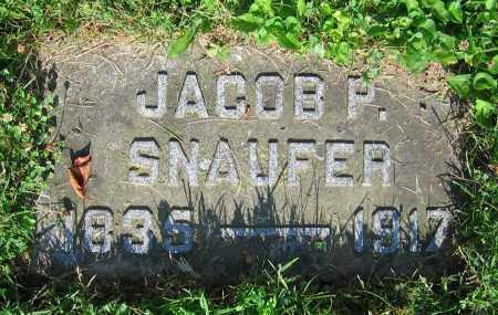 SNAUFER, JACOB P. - Clark County, Ohio | JACOB P. SNAUFER - Ohio Gravestone Photos