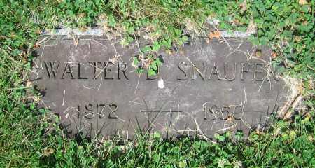 SNAUFER, WALTER D. - Clark County, Ohio | WALTER D. SNAUFER - Ohio Gravestone Photos