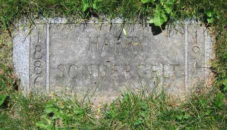 SONDERGELT, HARRY - Clark County, Ohio | HARRY SONDERGELT - Ohio Gravestone Photos