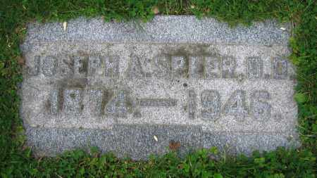 SPEER, JOSEPH A.  D.D. - Clark County, Ohio | JOSEPH A.  D.D. SPEER - Ohio Gravestone Photos