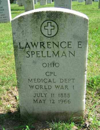 SPELLMAN, LAWRENCE E - Clark County, Ohio | LAWRENCE E SPELLMAN - Ohio Gravestone Photos