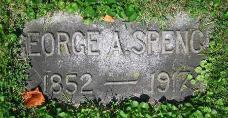 SPENCE, GEORGE A. - Clark County, Ohio | GEORGE A. SPENCE - Ohio Gravestone Photos