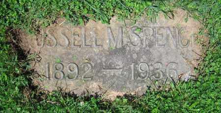 SPENCE, RUSSELL M. - Clark County, Ohio | RUSSELL M. SPENCE - Ohio Gravestone Photos