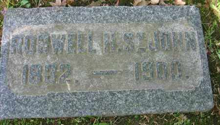 ST.JOHN, ROSWELL H. - Clark County, Ohio | ROSWELL H. ST.JOHN - Ohio Gravestone Photos