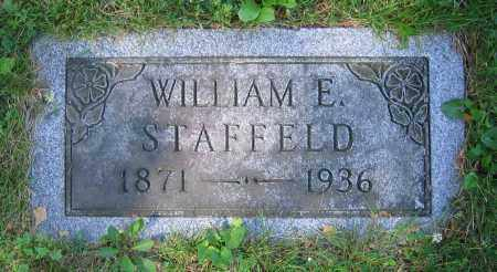 STAFFELD, WILLIAM E. - Clark County, Ohio | WILLIAM E. STAFFELD - Ohio Gravestone Photos