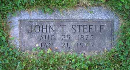 STEELE, JOHN T. - Clark County, Ohio | JOHN T. STEELE - Ohio Gravestone Photos