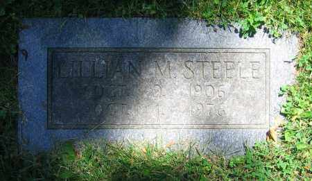 STEELE, LILLIAN M. - Clark County, Ohio | LILLIAN M. STEELE - Ohio Gravestone Photos