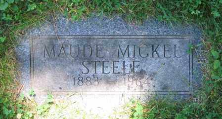 STEELE, MAUDE - Clark County, Ohio | MAUDE STEELE - Ohio Gravestone Photos