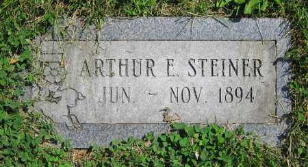 STEINER, ARTHUR E. - Clark County, Ohio | ARTHUR E. STEINER - Ohio Gravestone Photos