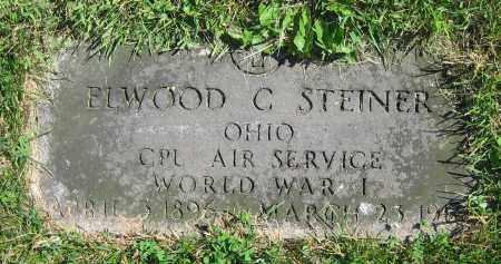 STEINER, ELWOOD C. - Clark County, Ohio | ELWOOD C. STEINER - Ohio Gravestone Photos