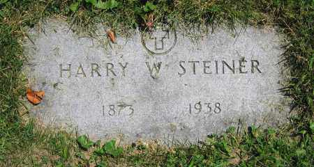 STEINER, HARRY W. - Clark County, Ohio | HARRY W. STEINER - Ohio Gravestone Photos