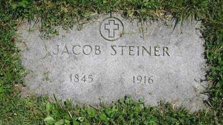 STEINER, JACOB - Clark County, Ohio | JACOB STEINER - Ohio Gravestone Photos