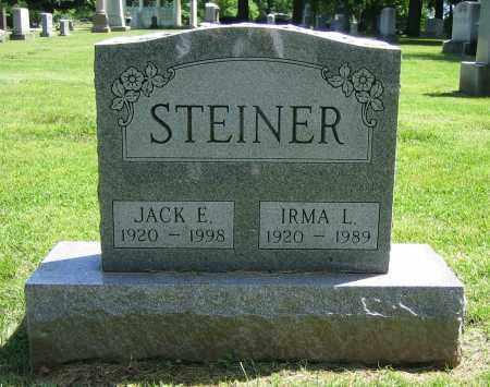 STEINER, IRMA L. - Clark County, Ohio | IRMA L. STEINER - Ohio Gravestone Photos