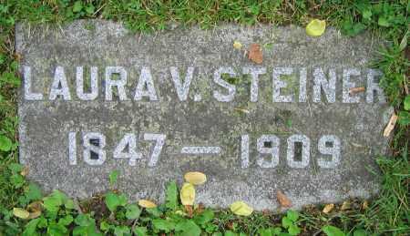 STEINER, LAURA V. - Clark County, Ohio | LAURA V. STEINER - Ohio Gravestone Photos