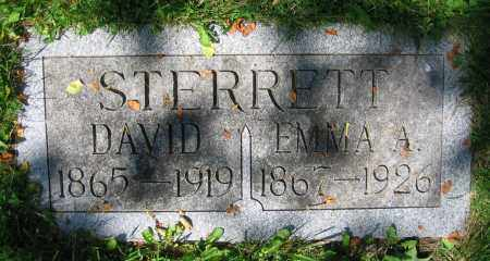 STERRETT, EMMA A. - Clark County, Ohio | EMMA A. STERRETT - Ohio Gravestone Photos
