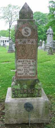 STERRITT, MARTHA W. - Clark County, Ohio | MARTHA W. STERRITT - Ohio Gravestone Photos