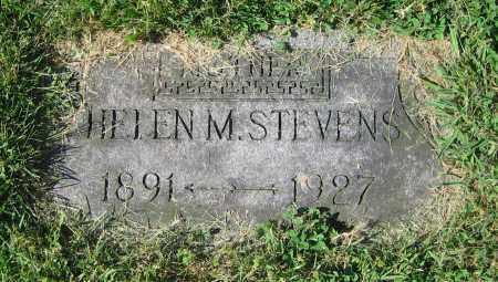 STEVENS, HELEN M. - Clark County, Ohio | HELEN M. STEVENS - Ohio Gravestone Photos