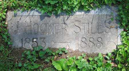 STILES, J. HOCKER - Clark County, Ohio | J. HOCKER STILES - Ohio Gravestone Photos