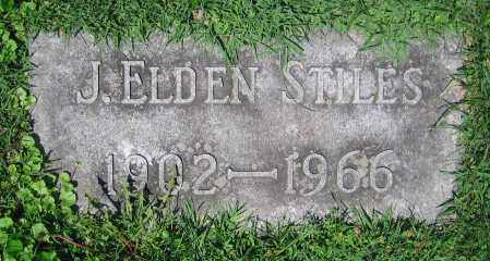 STILES, J. ELDEN - Clark County, Ohio | J. ELDEN STILES - Ohio Gravestone Photos