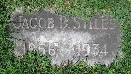 STILES, JACOB B. - Clark County, Ohio | JACOB B. STILES - Ohio Gravestone Photos