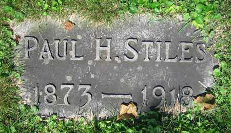 STILES, PAUL H. - Clark County, Ohio | PAUL H. STILES - Ohio Gravestone Photos