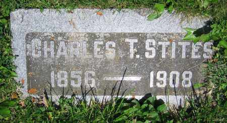 STITES, CHARLES T. - Clark County, Ohio | CHARLES T. STITES - Ohio Gravestone Photos